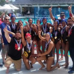 Girls' Water Polo Win State Championship