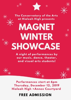 Join us! Magnet Winter Showcase!