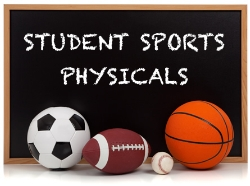 Thinking of Joining a Sport? HHS is providing Free Athletic Physicals !