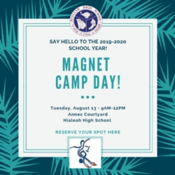 Attention Magnet Students: Camp Day!